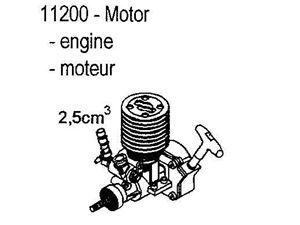 Immagine di Carson Motore 2.5 Chassis 1/10