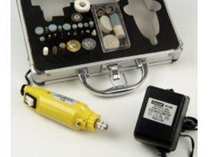 Immagine di RC 12 Mini Tool Set trapano 220V con Valigetta Alluminio completo di Utensili