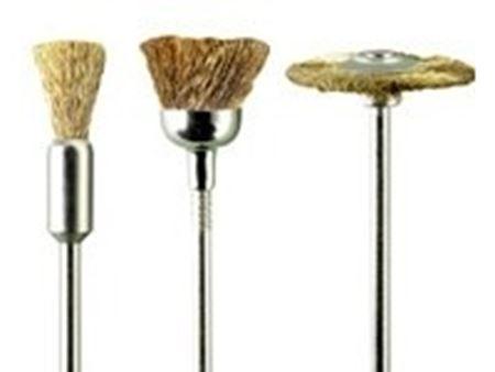 Immagine di PG mini - 3 spazzole ottone assortite