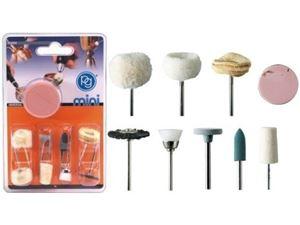 Immagine di PG mini - Kit 9 accessori lucidatura