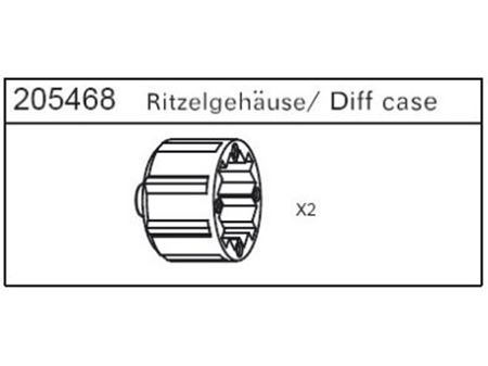 Immagine di Carson - Cassa differenziale per Specter - Montana - 2 Drift