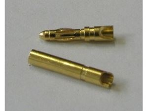 Immagine di RC System - Gold Connectror coppia 2mm