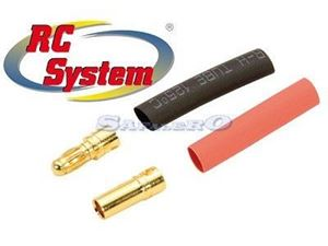 Immagine di RC System - Gold Connectror coppia 3,5mm