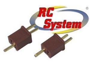 Immagine di RC System - Coppia Mini Connettori TPlug