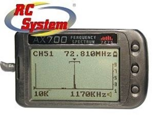Immagine di RC System - AX 700 Scanner per frequenze 40/41 mhz