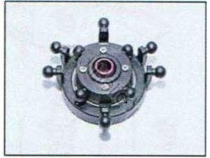 Immagine di Ricambi Pro Copter Sport - Piatto ciclico assemblato
