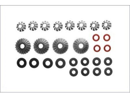Immagine di Kyosho Fazer Ferrari Ricambi -  Ingranaggi differenziale (8 Pz)