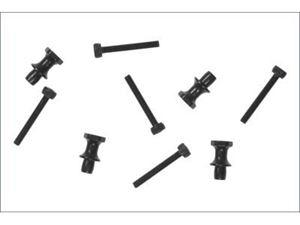 Immagine di Kyosho Ricambi - Fissaggio ammortizzatore in acciaio (4 pz.) TKI3-TKI4 IF346-04