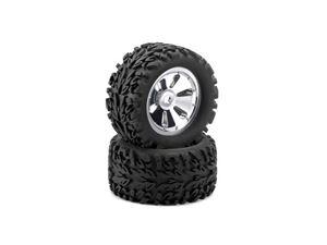 Immagine di Ansmann Racing - Coppia di gomme per Monster e Truck esagono 17