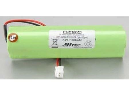 Immagine di Hitec - Batteria di ricambio per trasmittenti Hitec -TX NIMH 7,2V 1300mAh Optic Sport