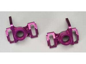Immagine di Portamozzi anteriori alluminio viola Monster Jam De Agostini