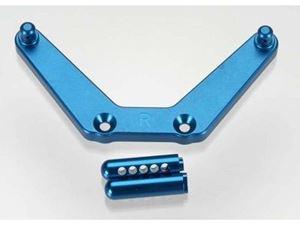 Immagine di Montaggio body post alluminio blu Monster Jam De Agostini
