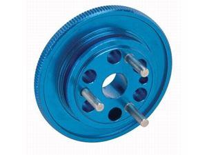 Immagine di Volano 3 spine alluminio blu Monster Jam De Agostini