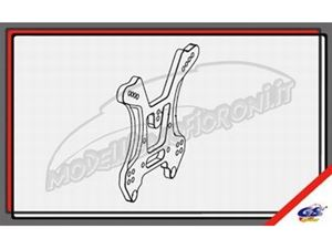 Immagine di GS Ricambi - Supporto ammortizzatori posteriori GS Storm CLX