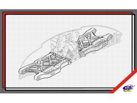 Immagine di GS Ricambi - Bracci posteriori inferiori GS Storm CLX