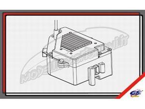 Immagine di GS Ricambi - Scatola porta ricevente e batterie GS Storm CLX