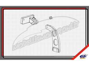 Immagine di GS Ricambi - Puntalino irrigidamento anteriore + posteriore GS Storm CLX