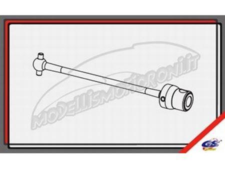 Immagine di GS Ricambi - Omocinetico CVD centrale posteriore 112mm GS Storm CLX