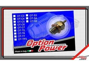 Immagine di Option team Fioroni - Candela standard Racing Glow Plug n 4