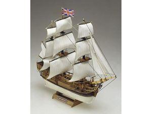 Immagine di Modellismo Navale Mamoli - H.M.S. BOUNTY fregata Sc. 1:135 L. 335 mm. H. 260 mm.