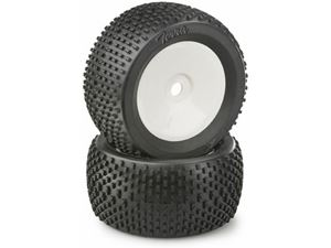Immagine di Ansmann Racing - Coppia di gomme Monster/Truggy Disc Terra, white
