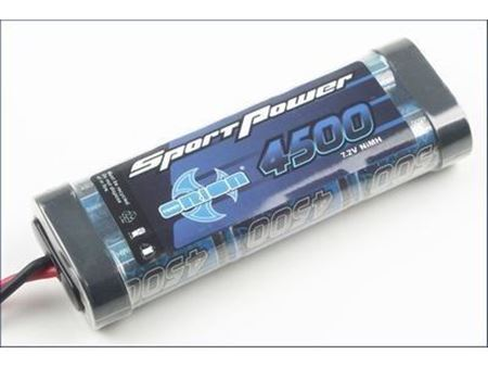Immagine di Team Orion - Pacco Batteria Sport Power 4500 7,2V Stick NiMH Tamiya
