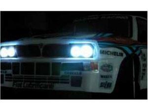 Immagine di Kit luci rally - 12 LUCI CON CABLAGGI E CENTRALINA INCLUSA Adattabile a qualsiasi modello 1:10