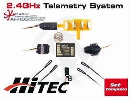 Immagine di Hitec - HTS-SS COMBO PACK COMPLETO TELEMETRIA