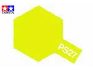 Immagine di Tamiya - Colori spray PS27 Fluorescent Yellow per policarbonato100 ml