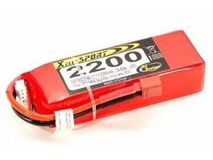 Immagine di Batteria Lipo Xell-Sport 11.1V 2200MAH 3S 30C