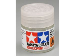 Immagine di Tamiya - Tamiya - X-22 Clear acrilico lucido