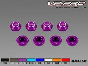 Immagine di VP-Pro - Dado Ruota chiuso 17mm x1 (Pz.4) Purple