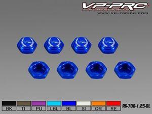 Immagine di VP-Pro - Dado Ruota chiuso 17mm x1.25 (Pz.4) Blue