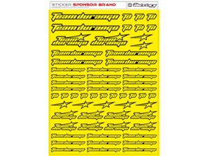 Immagine di RCALLSTICKERS - TEAM DURANGO BRAND DECAL SHEET FLU YEL