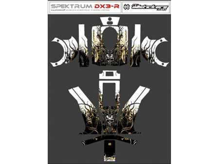 Immagine di RCALLSTICKERS - SKIN x RADIO SPEKTRUM DX3-R