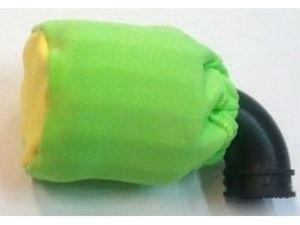 Immagine di Coprifiltro elastico verde Giallo Chiuso universale per filtro aria  off road 1/8