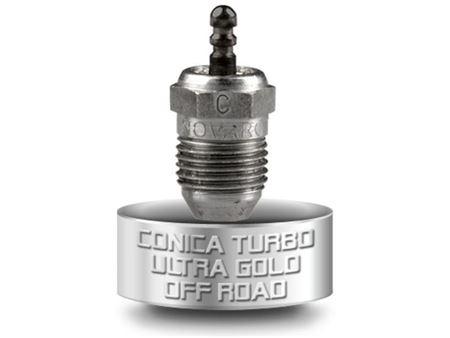 Immagine di NOVAROSSI - Candela N°7 Conica Turbo Gold - Off Road