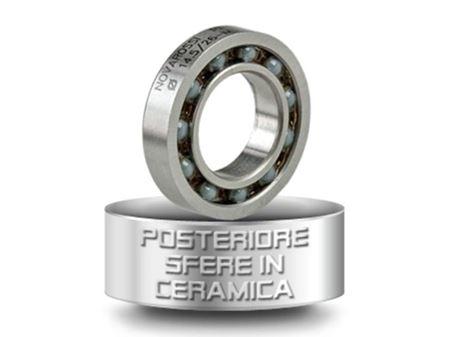 Immagine di Novarossi -CUSCINETTO POSTERIORE CON SFERE IN CERAMICA 14,5x26x6mm - 9 sfere