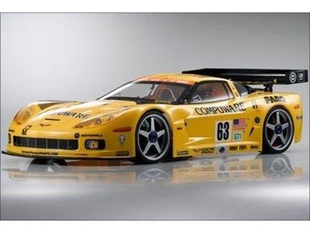 Immagine di Kyosho - Carrozzeria 1:8 Chevrolet Corvette C6-R,l