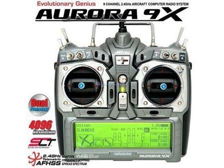 Immagine di Hitec - Radio AURORA 9X SOLO TX 2,4GHz MODE1