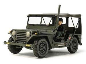 Immagine di TAMIYA - US UTILITY TRUCK M151A1 Vietnam War - 1: 35 (Kit di Montaggio)