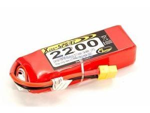 Immagine di Batteria Lipo Xell-Sport 11.1V 2200MAH 3S XT60