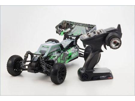 Immagine di Kyosho - Automodello elettrico 1:10 EP 4WD Buggy corsa r / s Dirt Hog (colore verde)
