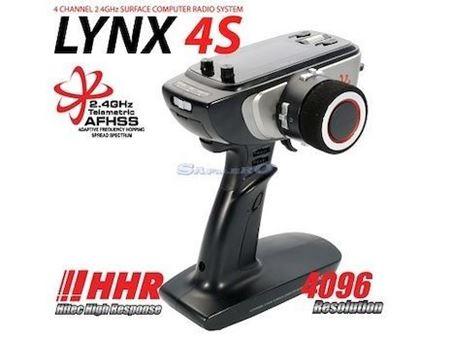 Immagine di Hitec - LYNX 4S 2.4GHz 4Ch Rx Axion 4