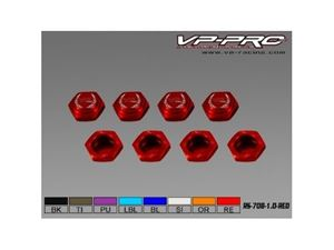 Immagine di VP-Pro - Dado Ruota chiuso 17mm x1 (Pz.4) Red