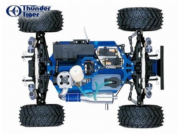 Thunder tiger big monster truck 4wd manual