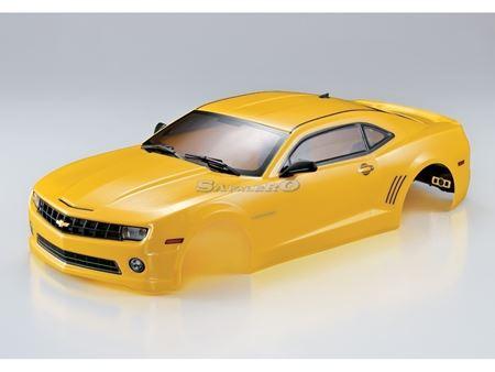 Immagine di KillerBody - Carrozzeria  1/10 Camaro 2011 190mm, Yellow, RTU all-in