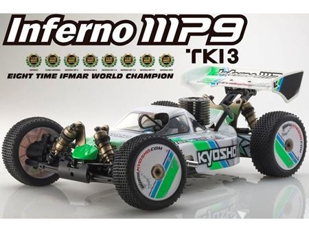 Immagine di Kyosho - 1/8 GP 4WD RACING BUGGY INFERNO MP9 TKI3 Readyset (RTR)