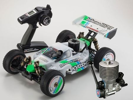 Immagine di Kyosho - 1/8 GP 4WD RACING BUGGY INFERNO MP9 TKI3 Readyset (RTR) NOVAROSSI PLUS S4.21 PULLSTART