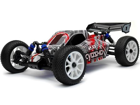 Immagine di Kyosho - 1/10 GP 4WD Racing Buggy DBX 2.0 Readyset (Col.Rosso)